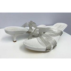 Casadei Shoes - Casadei white Plastic Shoes SZ 8 Fits SZ 9